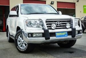 2007 Toyota Landcruiser VDJ200R Sahara White 6 Speed Sports Automatic Wagon Coopers Plains Brisbane South West Preview