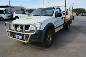 2004 Holden Rodeo RA LX White 5 Speed Manual Cab Chassis