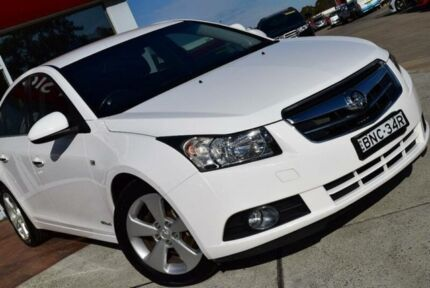 2010 Holden Cruze JG CDX White 6 Speed Automatic Sedan