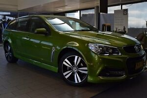 2015 Holden Commodore VF MY15 SV6 Storm Jungle Green 6 Speed Automatic Sportswagon Belconnen Belconnen Area Preview