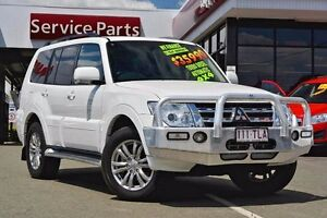 2013 Mitsubishi Pajero NW MY13 VR-X White 5 Speed Sports Automatic Wagon Beaudesert Ipswich South Preview