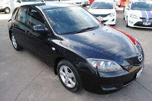 2008 Mazda 3 BK10F2 Neo Black 4 Speed Sports Automatic Hatchback Townsville Townsville City Preview