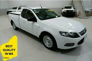 2013 Ford Falcon FG MkII EcoLPi Ute Super Cab White 6 Speed Sports Automatic Utility Kenwick Gosnells Area Preview