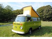 Pristine inside & out Type 2 Westfalia Berlin '75 all original & perfect working order 2L injection