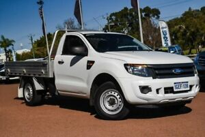 2012 Ford Ranger PX XL 4x2 White 6 Speed Manual Utility Wangara Wanneroo Area Preview