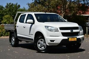 2015 Holden Colorado RG MY16 LS Crew Cab White 6 Speed Manual Utility Melrose Park Mitcham Area Preview