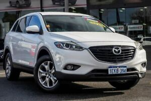 2013 Mazda CX-9 TB10A5 MY14 Classic Activematic White 6 Speed Sports Automatic Wagon