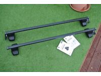 Thule Rapid System Roof Bars - for Ford Fiesta 2008 - 2017 with normal roof