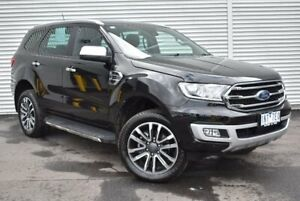 2018 Ford Everest UA II 2019.00MY Titanium 4WD Black 10 Speed Sports Automatic Wagon Epping Whittlesea Area Preview