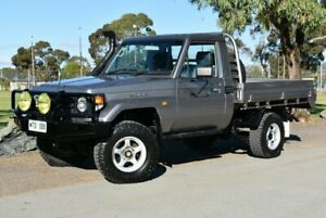 2002 Toyota Landcruiser HDJ79R Silver 5 Speed Manual Cab Chassis Brighton Holdfast Bay Preview