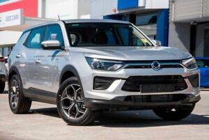 2019 Ssangyong Korando C300 MY20 ELX 2WD Silver 6 Speed Sports Automatic Wagon Springwood Logan Area Preview