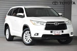 2014 Toyota Kluger GSU55R GX White Sports Automatic Indooroopilly Brisbane South West Preview