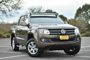 2015 Volkswagen Amarok 2H MY15 TDI420 4Motion Perm Highline Brown 8 Speed Automatic Utility Strathalbyn Alexandrina Area Preview
