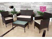 4 piece rattan furniture