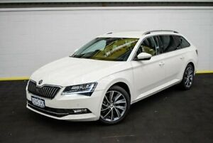 2018 Skoda Superb NP MY18 162 TSI White 6 Speed Direct Shift Wagon Canning Vale Canning Area Preview