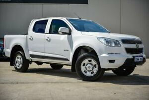 2014 Holden Colorado RG MY14 LX Crew Cab 4x2 White 6 Speed Manual Utility Midvale Mundaring Area Preview