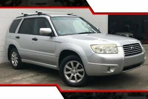 2007 Subaru Forester 79V MY07 XS AWD Metallic Silver 4 Speed Automatic Wagon