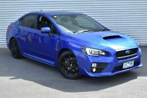 2016 Subaru WRX V1 MY16 Premium Lineartronic AWD Blue 8 Speed Constant Variable Sedan Epping Whittlesea Area Preview