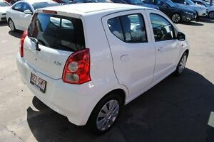 2012 Suzuki Alto GF GL White 4 Speed Automatic Hatchback Hyde Park Townsville City Preview
