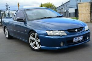 2003 Holden Commodore VY S Blue 4 Speed Automatic Utility Kewdale Belmont Area Preview
