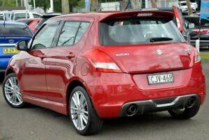2012 Suzuki Swift FZ Sport Red 7 Speed Constant Variable Hatchback Gosford Gosford Area Preview