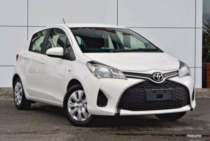 2016 Toyota Yaris NCP130R Ascent White 4 Speed Automatic Hatchback Tweed Heads South Tweed Heads Area Preview