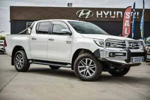 2016 Toyota Hilux GUN126R SR5 Double Cab White 6 Speed Sports Automatic Utility Midvale Mundaring Area Preview