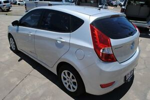 2013 Hyundai Accent RB Active Silver 5 Speed Manual Hatchback Townsville Townsville City Preview