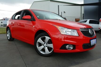 2014 Holden Cruze JH MY14 Equipe Red 6 Speed Automatic Hatchback Welshpool Canning Area Preview