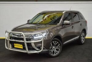 2015 Mitsubishi Outlander ZK MY16 XLS 4WD Brown 6 Speed Constant Variable Wagon