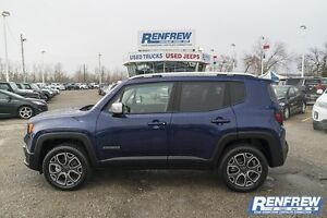 2016 Jeep Renegade Limited 4x4 Loaded MySKY Roof