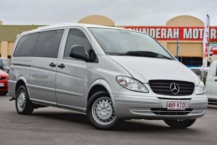 2005 Mercedes-Benz Vito 639 MY05 119P Low Roof Long Silver 5 Speed Automatic Wagon Chinderah Tweed Heads Area Preview