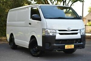 2014 Toyota HiAce TRH201R MY14 LWB White 4 Speed Automatic Van Melrose Park Mitcham Area Preview