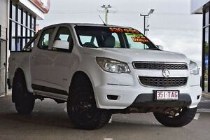 2013 Holden Colorado RG MY13 LX Crew Cab White 5 Speed Manual Utility Beaudesert Ipswich South Preview