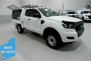 2017 Ford Ranger PX MkII XL Hi-Rider White 6 Speed Sports Automatic Cab Chassis Kenwick Gosnells Area Preview