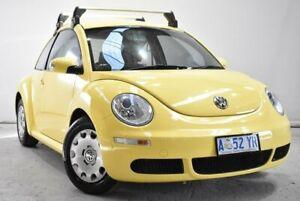 2009 Volkswagen Beetle 9C MY2008 Miami Coupe Yellow 5 Speed Manual Liftback Launceston Launceston Area Preview