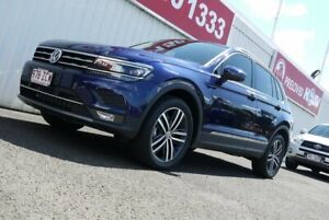 2019 Volkswagen Tiguan 5N MY20 162TSI DSG 4MOTION Highline Blue 7 Speed Sports Automatic Dual Clutch Avoca Bundaberg City Preview