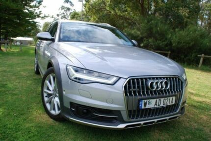 2015 Audi A6 4G MY16 allroad S tronic quattro Silver 7 Speed Sports Automatic Dual Clutch Wagon Bellevue Swan Area Preview