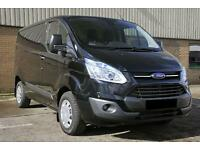 FORD TRANSIT CUSTOM 290 trend 125psi LR P-V BLACK, Black, Manual, Diesel, 2015