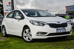 2015 Kia Cerato YD MY15 S Clear White 6 Speed Sports Automatic Sedan Wangara Wanneroo Area Preview