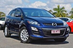2009 Mazda CX-7 ER10L2 Classic Activematic Blue 5 Speed Sports Automatic Wagon Jamboree Heights Brisbane South West Preview
