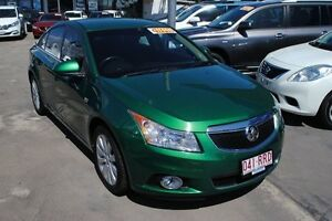2011 Holden Cruze JG CDX Green 6 Speed Sports Automatic Sedan Townsville Townsville City Preview