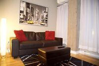 FULLY FURNISHED CONDO DOWNTOWN MONTREAL CENTRE-VILLE