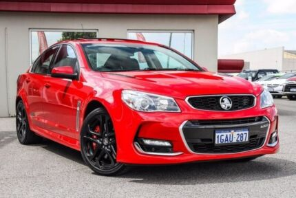 2016 Holden Commodore VF II MY16 SS V Redline Red 6 Speed Sports Automatic Sedan Bayswater Bayswater Area Preview