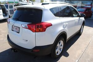 2014 Toyota RAV4 ASA44R MY14 GXL AWD White 6 Speed Sports Automatic Wagon Townsville Townsville City Preview