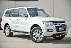 2015 Mitsubishi Pajero NX MY15 Exceed White 5 Speed Sports Automatic Wagon Midvale Mundaring Area Preview