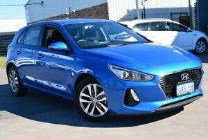 2017 Hyundai i30 PD Active Blue 6 SP AUTO SEQUENTIAL Hatchback Kewdale Belmont Area Preview