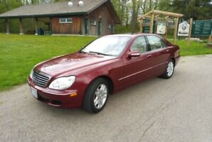 2003 Mercedes Benz S-500 -Immaculate Condition