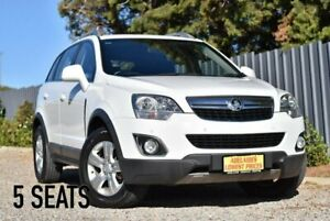 2013 Holden Captiva CG MY13 5 AWD LT White 6 Speed Sports Automatic Wagon Enfield Port Adelaide Area Preview