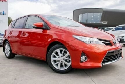 2014 Toyota Corolla Orange Constant Variable Hatchback